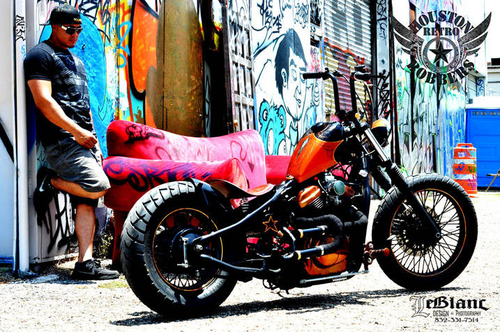 Honda Shadow Bobber For Sale COPPER CHOPPER | VLX600 - HOUSTON RETRO BOBBERS