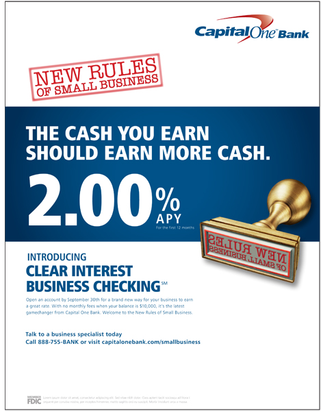 Capital One New Rules Rate Ads Ianmcalister Brianpluta
